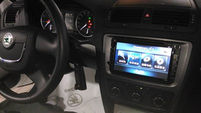 [樂克影音]  VW 福斯 volkswagen SKODA OCTAVIA 8吋多媒體主機/GPS/DTV/CCD