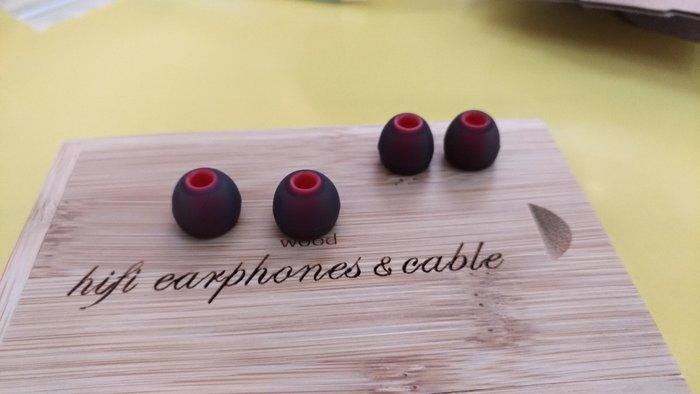 「Cecile音樂坊」與菲利普耳套相同,加厚單節雙色套,孔徑4mm 2對耳套的價格~ 中號+小號 特價!