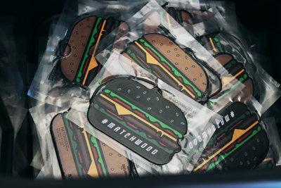 【Matchwood直營】Matchwood Air Freshener 漢堡造型香氛香片 一組兩片 芳香吊飾 生活單品