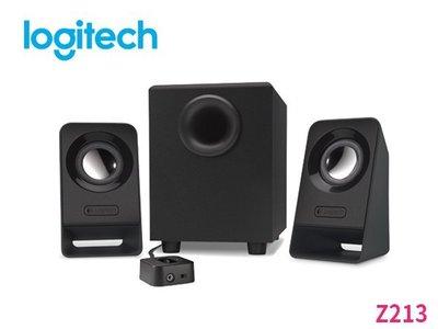 「ㄚ秒市集」Logitech 羅技 Z213 2.1聲道 音箱喇叭 3件式喇叭系統