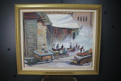 方延杰 油畫  (此畫作直接取得於畫家家屬) 67 * 75