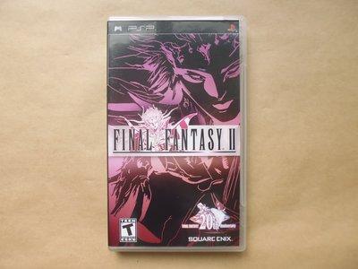 明星錄*美國版.FINAL FANTASY 2二手遊戲光碟(附英文手冊)(m05)