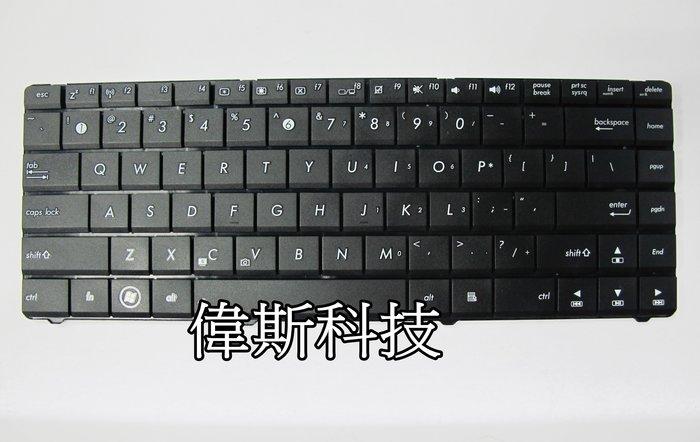 ☆偉斯科技☆華碩A45VM R400V N46 P45 A45 A85 K45 R400  全新鍵盤~現貨供應中!