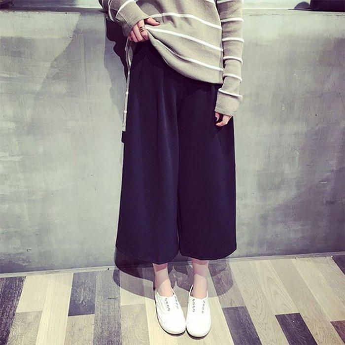 【Hao Da】全館399免運↘「M~XL。現貨」百搭 寬鬆 顯瘦 寬褲 (P1104)