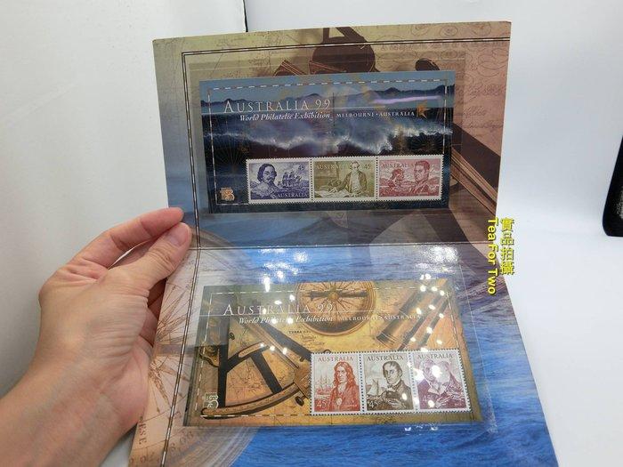 澳洲郵票系列,航海票卡封 + 郵票,編號131555