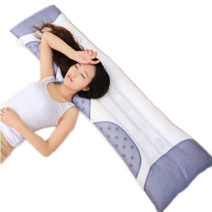 情侶磁石1.2雙人護頸長枕頭1.5婚慶長枕芯1.8米