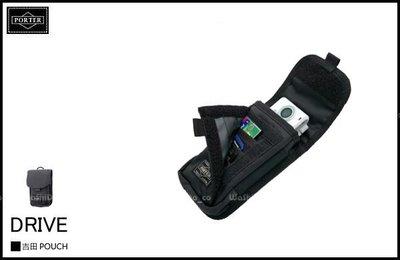 WaShiDa PLUS+【日本 吉田 PORTER × DRIVE 系列 灰色 腰掛包 I PHONE 手機袋 L號】- 預訂 635-06827