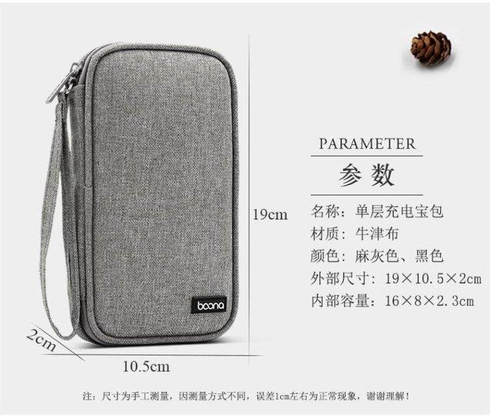 (全館免運)SanCore充電寶收納包小米羅馬仕10000/20000/30000手機布袋套子 Color Bridge