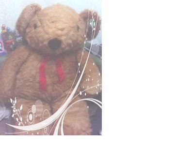 全新超大頂級泰迪熊(高約150公分寬約80公分)~告白~情人節禮物