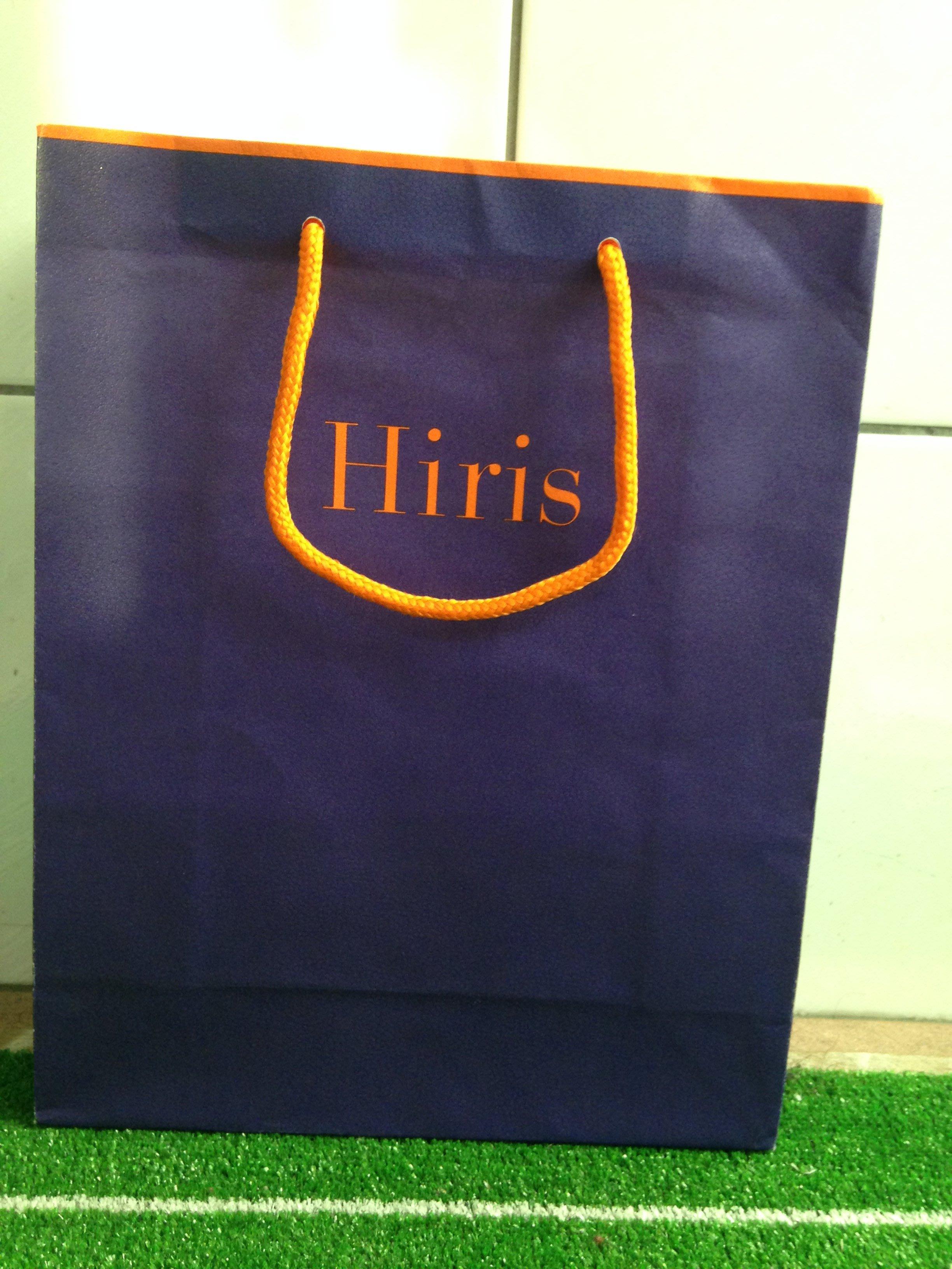 Hiris 二手 深紫色紙袋 約八成新
