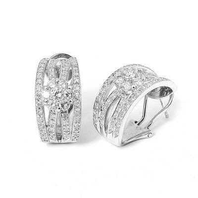 【JHT金宏總珠寶/GIA鑽石專賣】1.5ct克拉天然鑽石耳環/材質:PT900(JB23-B033)