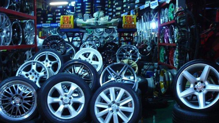 輪胎+鋁圈自由配 15吋 16吋 17吋 18吋 19吋 16吋 17吋 18吋 19吋 德國百世霸四輪定位 避震器