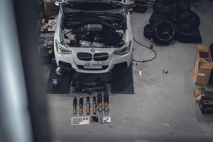 德朋國際 / BMW F20 M135 對應 Ohlins R&T DFV 高階避震器組