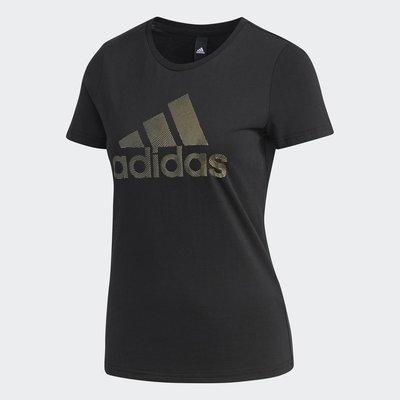玉米潮流本舖 ADIDAS 女款 DW5723 黑色 短袖 短TEE