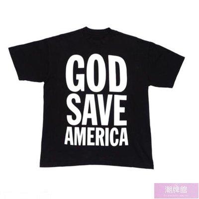 現貨免運  Kanye West 2020 support vote tee 侃爺競選短袖T恤