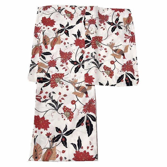 01新款出口日本客供面料全棉和服浴衣 特別柄 鳳凰