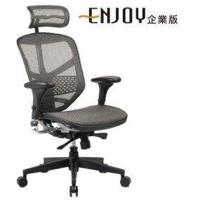 巧迪 Enjoy 121(企業版)人體工學椅-電腦椅 電競椅 辦公 高彈力腰片  七色 寒戰專用款 網椅 好清潔 高彈力 台北市