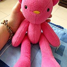 粉紅可轉動娃娃玩偶