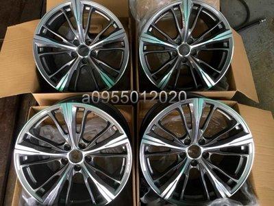 類BMW M4概念圈5孔112 19吋鋁圈G11/G12/G20/G30/G31/F39/F48/G01/G02/G05