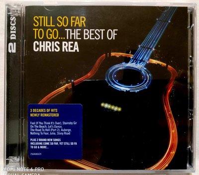 全新未拆 2CD / 克理斯里亞Chris Rea / 藍調生涯精選 Still So Far To Go / 澳洲進口