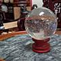 高白淨水晶球/ 直徑5.5公分重量200公克/ 全館...
