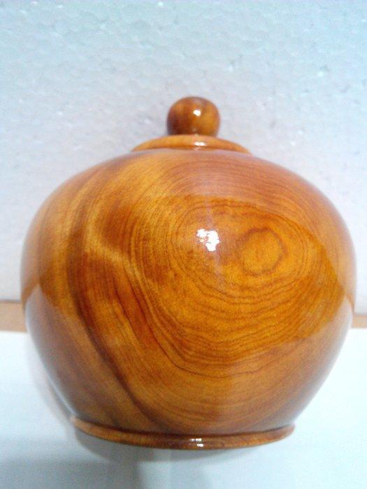 【九龍藝品】肖楠木 聚寶盆 閃花.鋼琴烤漆.寬約10.5公分 6