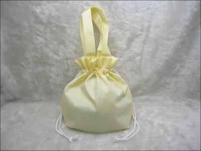 不織布束口袋(27*24)-BAG-031 素面無印刷(米色*100只)