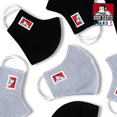 【Brand T】免運 BEN DAVIS FACE MASK 可水洗 猿人 LOGO 布口罩 口罩 經典 2色
