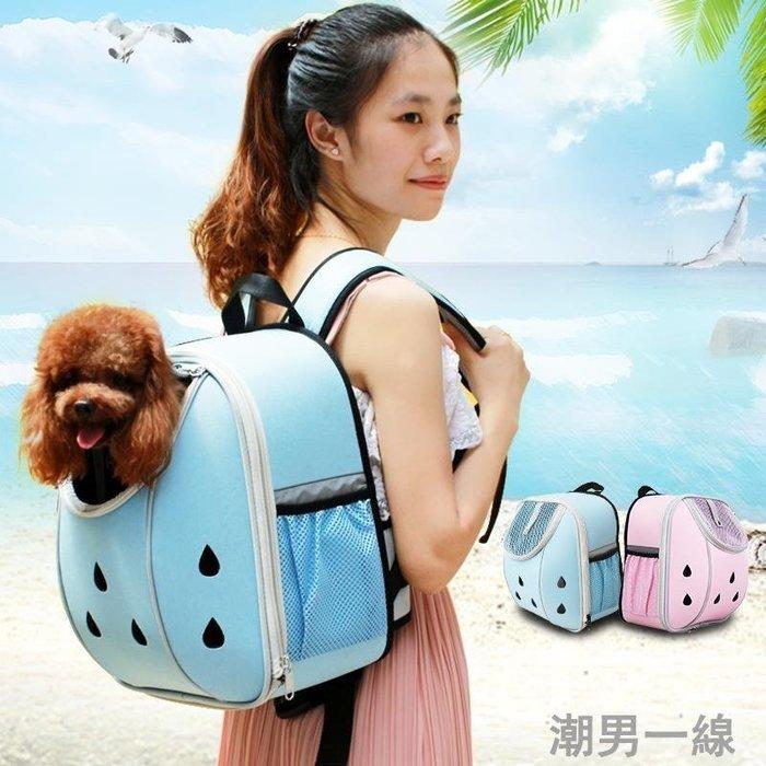 Petsfit寵物包外出雙肩包貓包泰迪狗狗背包外出便攜狗包寵物背包 locn