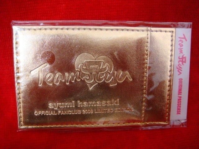 濱崎步日本會員再度入會特典_證件套「Team ayu」限定商品