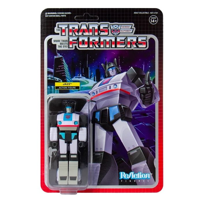 [Paradise] ReAction Transformers Jazz  變形金剛 3.75吋復古人偶 爵士