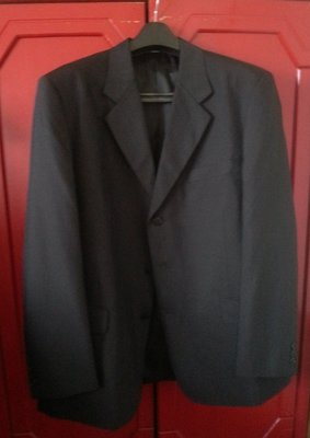 【PIERRE BALMAIN】黑色西裝外套 52號