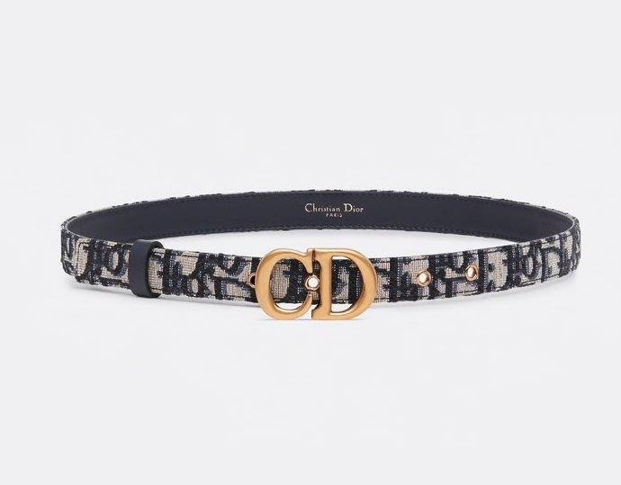 【代購】Dior logo  腰帶 皮帶
