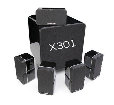 台中『崇仁視聽音響』 Cambridge Audio Minx 325 │ Min22 x 5支 + Minx X301