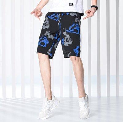 時尚服飾 男士休閑短褲五分褲2019韓版夏季中褲潮流青年時尚男褲