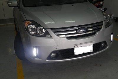 (柚子車舖) 福特 FOCUS FIESTA PRZ 通用款日行燈 DRL -可到府安裝 台製品(福燦) b
