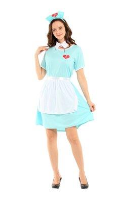 乂世界派對乂 萬聖節服裝,萬聖節道具,變裝派對,大人變裝服/護士服裝/溫柔女護士