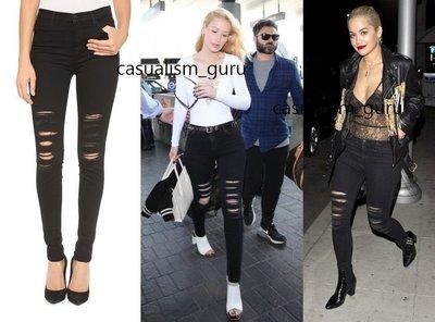 ◎美國代買◎J Brand High Rise Photo Ready Maria Jeans超級顯廋刷破復古高腰合身