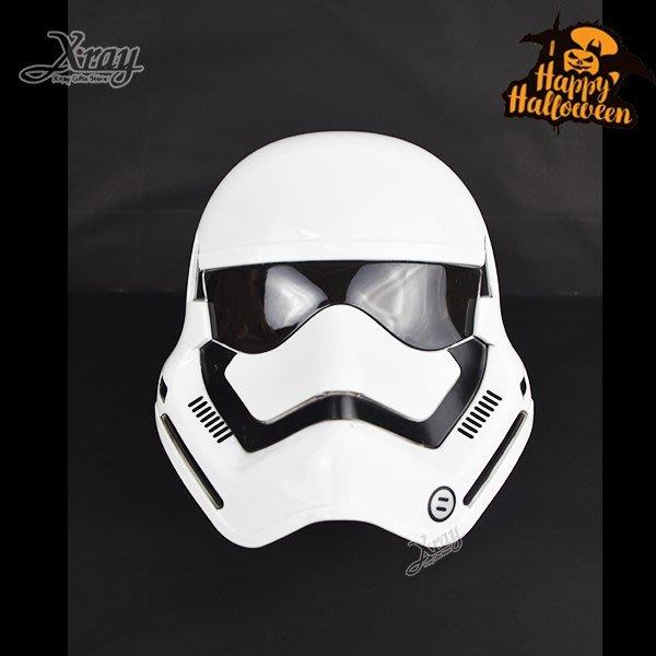 X射線【W060015】白武士發光面具,萬聖節服裝/派對用品/尾牙表演/角色扮演