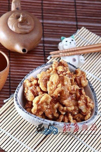 愛饕客【烘焙蜜汁核桃】精選核桃裹上麥芽糖,甜滋滋的健康美味 !超值大包裝