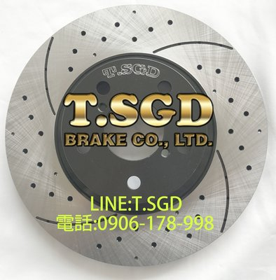 TSGD原廠冰冰碟- 09- 日野HINO 300 3.5/6.2T 前 281*30MM 高登專利碟盤剎車盤煞車盤