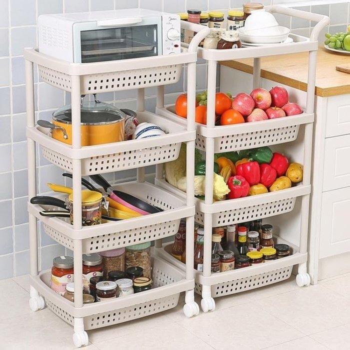 YEAHSHOP 蔬菜架水果菜籃架子廚房置物架收Y185