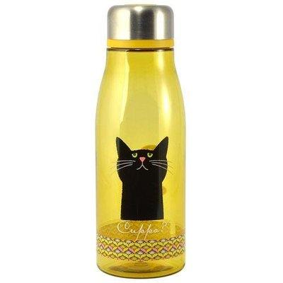 ◎LY愛雅日貨◎ 日本代購 Cuppa 黑貓 3 牛奶瓶造型  冷水瓶  冷水壺