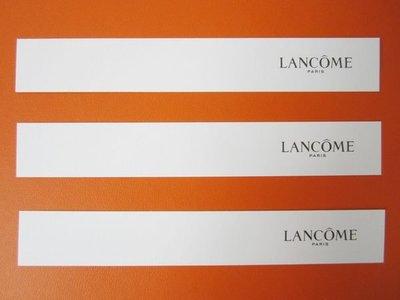 法國頂級保養品牌【LANCOME】蘭蔻 長條形 香水 試香紙卡 每張$10 保證全新正品/真品