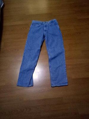 KIRKLAND32腰牛仔褲腰32臀20褲檔11大腿13褲長42吋管8(桌348)