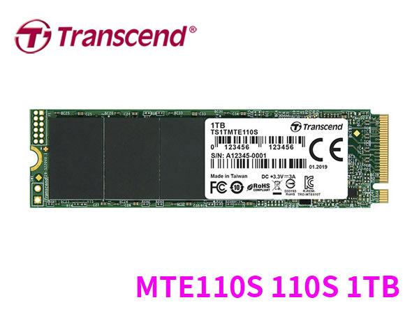 「Sorry」創見 MTE110S 110S 1TB TLC M.2 2280 PCIe SSD