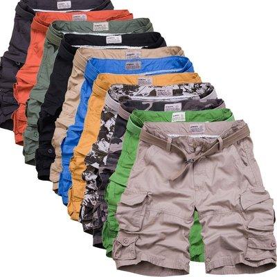 美式高品質AF風工作短褲高磅數休閒短褲 送腰帶 12色可選