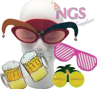 NGS 大人派對眼鏡 得意 有興 古怪 party飾物 Party Glasses 結婚遊戲 玩具