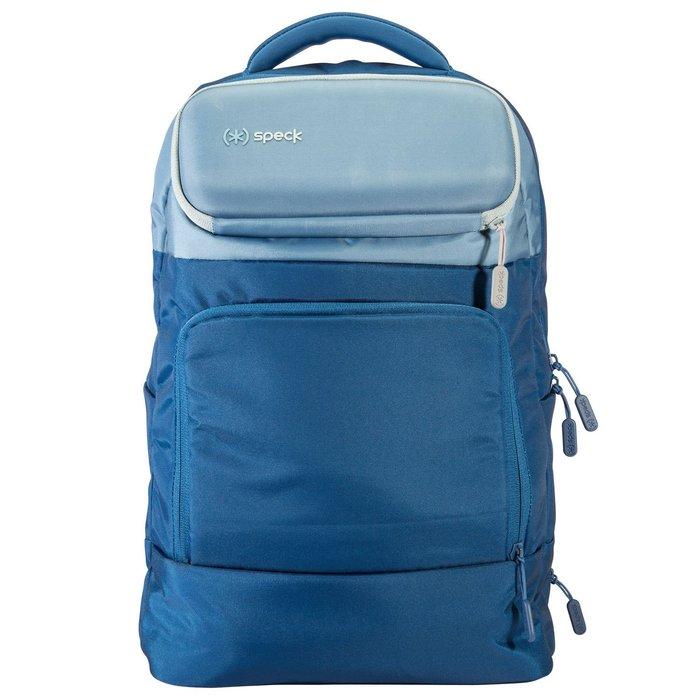 Speck MightyPack 多功能筆記型電腦旅行背包 蘋果筆電 iPad pro包-天藍/水藍色