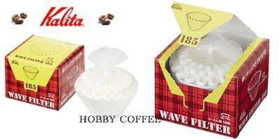 【豐原哈比店面經營】日本製 KALITA 185 蛋糕型 漂白波浪咖啡濾紙 2-4人份 50入